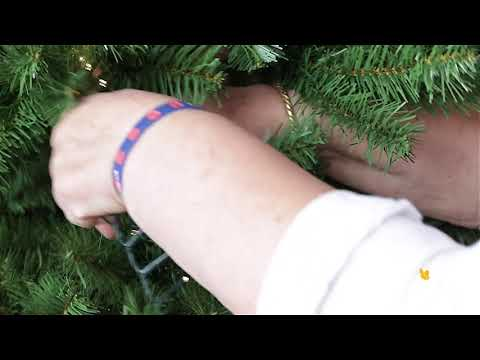 How to put lights on your artificial Christmas tree