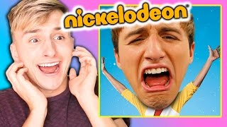 REACTING TO MY FAILED NICKELODEON SHOW