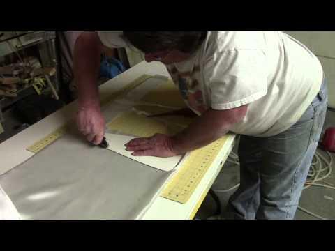 cutting fiberglass