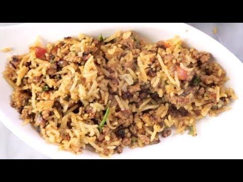 How To Make Keema Pulao at Home   Homemade Keema Pulao Recipe   Quick & Easy Rice Recipe