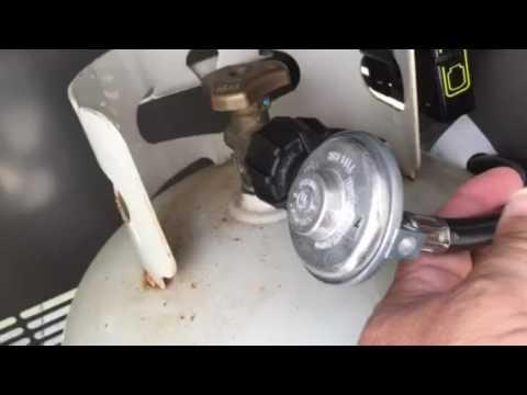 Weber grill gas leak