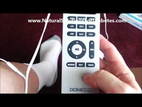 TENS Unit Therapy For Diabetic Peripheral Neuropathy And Blood Circulation