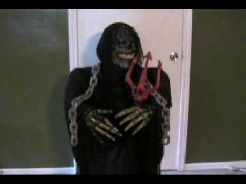DIY Halloween prop with moving head
