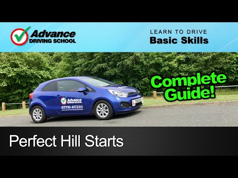 Perfect Hill Starts  |  Learning to drive: Basic skills