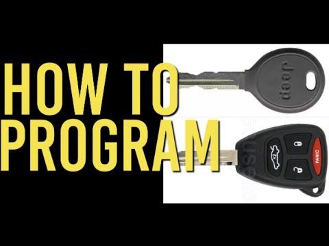 How To Program Transponder Keys: Chrysler Vehicles
