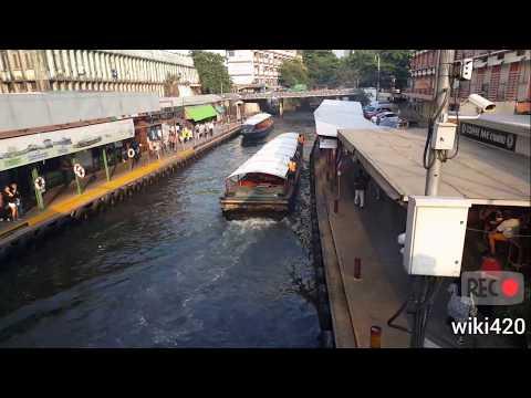 Bangkok Boat Tour to Pratunam 22 February 2018