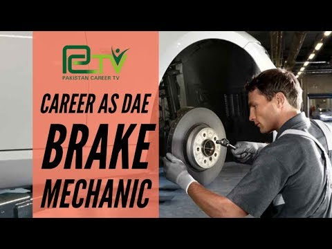 Career as Brake Mechanic