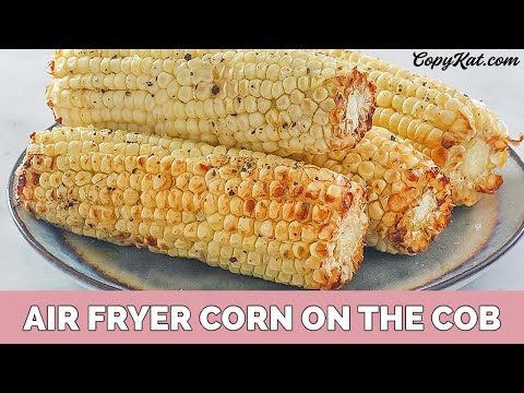 Roasted Corn in the Air Fryer