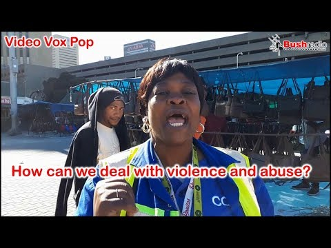 How can we deal with violence and abuse - A video vox pop