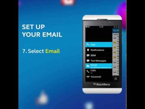 How to set up mobile internet on BlackBerry 10