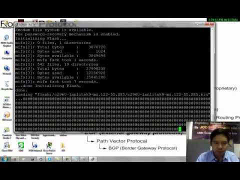 วิธีการทำ Password Recovery Switch CISCO โดย JODOI