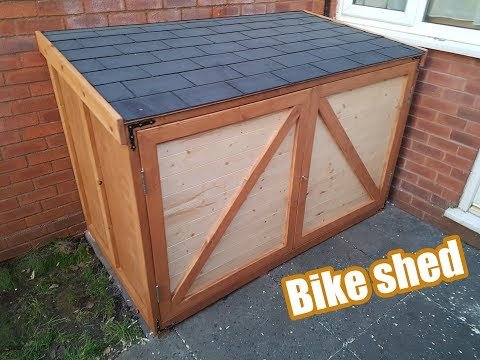 how to make / Bike shed / DIY