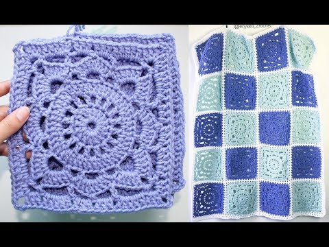 How to Crochet Willow Square Easy Tutorial