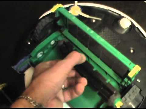 Basic iRobot Roomba cleaning of brushes and  maintenance