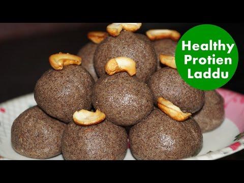 Ragi Laddu in Telugu by amma Kitchen- Protein - healthy Nutritious Ladoo recipe