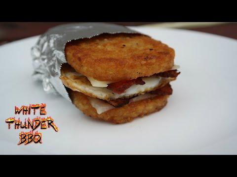 Hashbrown Breakfast Sandwich | White Thunder BBQ