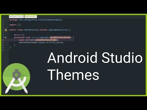 How to Install More Android Studio Themes