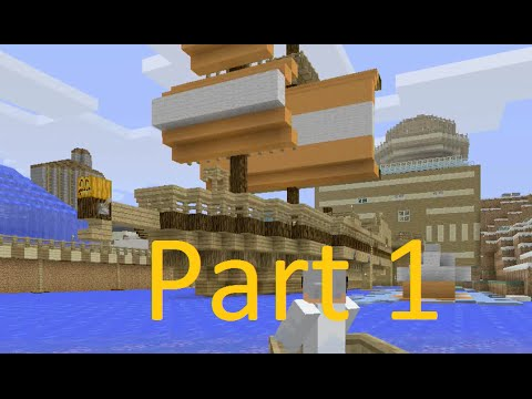 Building Stampy's Boat - The SS Stumpy Part 1