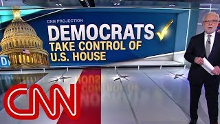 Democrats take control of House, CNN projects | Midterm elections