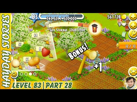 Getting Mallet From Lettuce Harvesting in Hay Day Level 83 | Part 28 - Freedom Farm