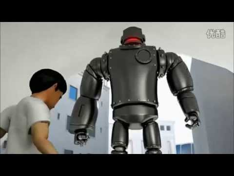 Amazing Nike Air Mag cartoon commercial with giant gorilla and robot MUST WATCH!!!