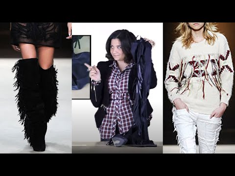 How to make DIY Isabel Marant fringe boots, furry coat and yohan sweater: Fashion Attack