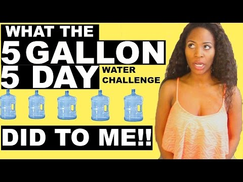 What drinking 5 GALLONS of water in 5 days DID TO ME!!! (Conclusion video)