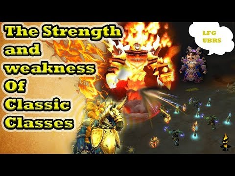 The Strength and Weaknesses of all Classic WoW Classes - What will you pick?