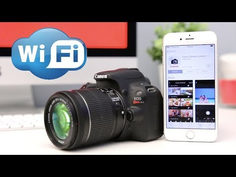 Canon SL2 (200D) Tutorial - How To Set Up WiFi & Connect to Phone