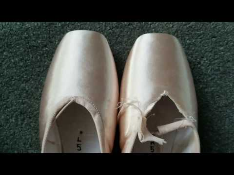 Shortening My Pointe Shoe Vamp Timelapse + Before and After