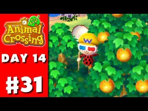 Animal Crossing: New Leaf - Part 31 - Fruit Farming (Nintendo 3DS Gameplay Walkthrough Day 14)
