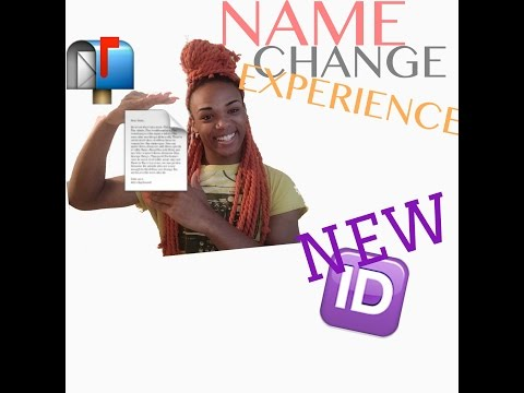 HOW TO LEGALLY CHANGE YOUR NAME | NAME CHANGE EXPERIENCE - HRT MTF