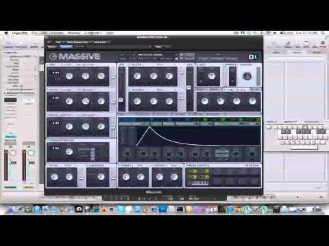 Massive Tutorial: Moombahton Laser Synth [Knife Party, Dillon Francis]