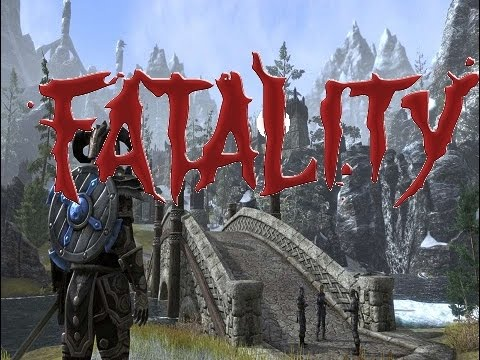 ESO PS4 Stage Fatality Mortal Kombat Style