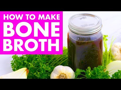 How To Make & Use Bone Broth + Health Benefits + FREE GIFT/GIVEAWAY! - Mind Over Munch
