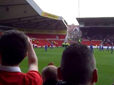 ANDY REID goal NOTTINGHAM FOREST v Cardiff City 20/10/12