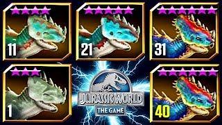 Jurassic World The Game New Legendary Hybrid Videos Ytube Tv