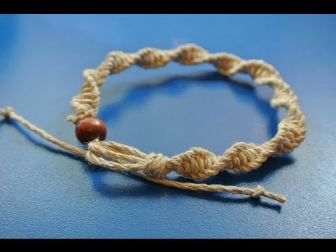 How to make a Hemp Anklet