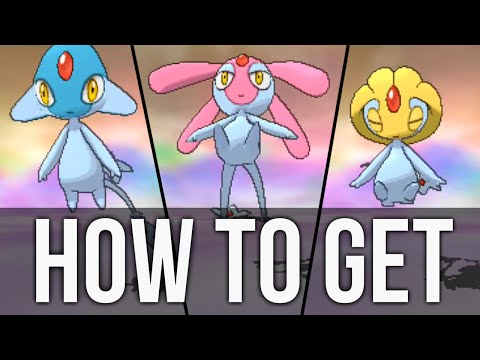 How to get Uxie, Mesprit, and Azelf in Pokémon Omega Ruby and Alpha Sapphire