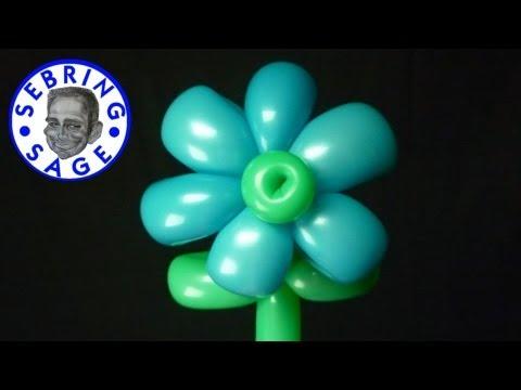 Balloon 6 Petal Flower
