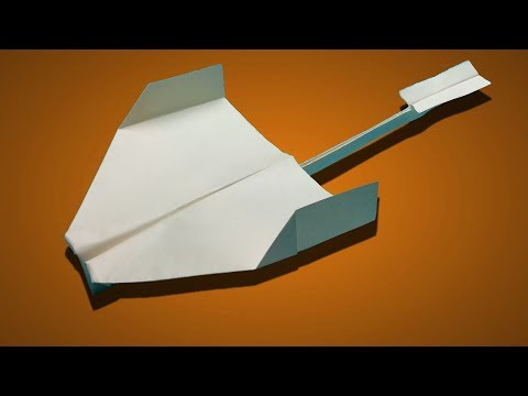 How to make a paper Airplane that flies Far and Comes back to you easy | Cool Paper Planes