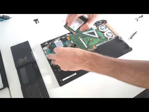 Sony Vaio VPCZ21M9E SSD Replacement Guide