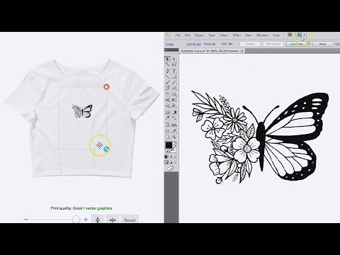 How To Convert An Image Into Vector Art Using Adobe Illustrator | Easy Tutorial