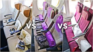 EMIRATES vs ETIHAD vs QATAR Economy Class   Which Airline Is Best?!   Economy Week