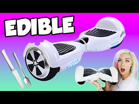 DIY EDIBLE HOVERBOARD | EAT YOUR SWAGWAY