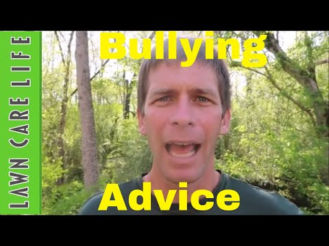 Lawn Business Advice for Start Up Business Getting Bullied