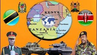 Tanzania VS Kenya Military Power Comparison 2017