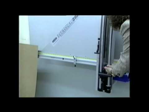 Fletcher Terry 3100 Cutter Mat Mount and Foam Board Demo Video