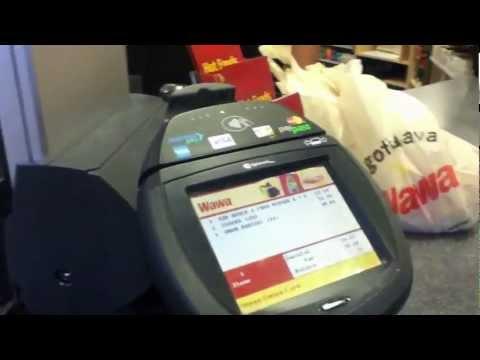 Using Google Wallet on Nexus 4 (Wawa)