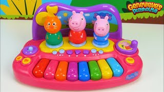Best Preschool Educational Video for Toddlers - Learn Colors with Peppa Pig & Pororo Musical Toys!
